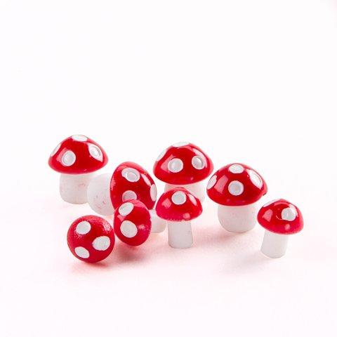 red mushrooms - 2