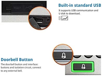 F18 Fingerprint Access Controller by ZKTeco, Time Attendance, ZK-F