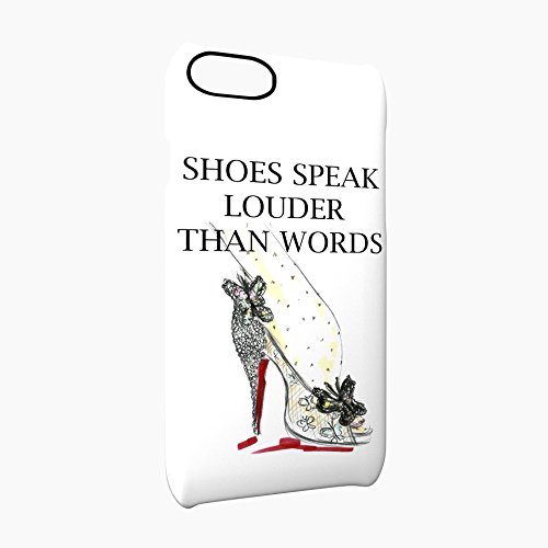Shoes Speak Louder Than Words Glossy Hard Snap-On Protective iPhone 7 Plus + Case Cover