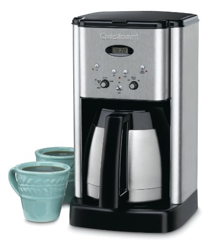 Find a Cuisinart DCC-1400 Brew Central 10-Cup Thermal Coffee Maker, Silver