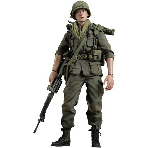 [Movie Masterpiece]  Platoon  1 6 scale figure Chris Taylor (japan import)