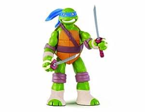 Tortugas Ninja - Figura Leonardo, 28 cm (Giochi Preziossi 91220)