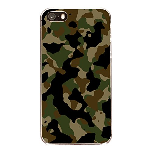 "Disagu Design Case Coque pour Apple iPhone 5s Housse etui coque pochette ""Camouflage Grün"""