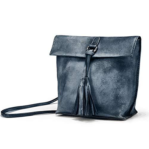 Brown Cuir Yahuyaka En Pour Femme À Petit Vintage Bandoulière Gray Sac Dames Main color 0qY70Zr