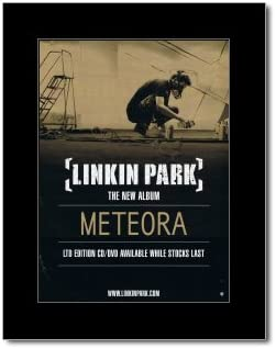 Amazon Com Music Ad World Linkin Park Meteora Mini Poster 28 5x21cm Prints Posters Prints