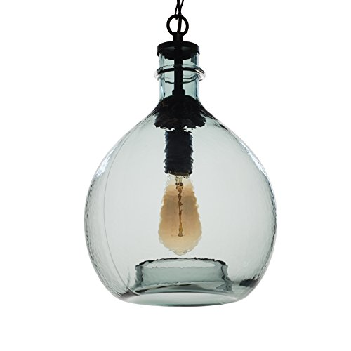 Blown Glass Pendant Lights Blue