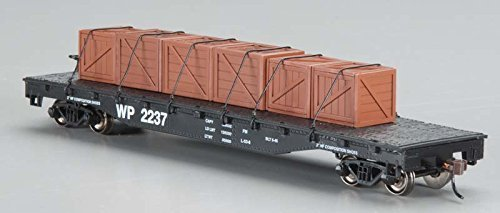 Bachmann Trains Western Pacific Flat Car With Created Load-Ho Scale