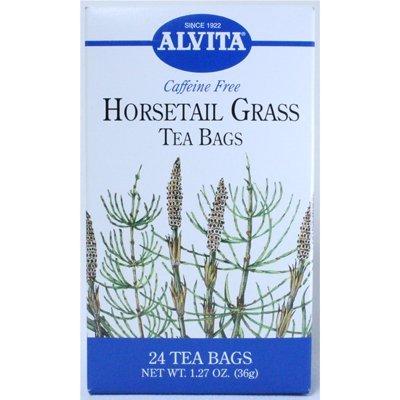 Alvita Caffeine Free Tea Horsetail Grass -- 24 Tea Bags by Alvita