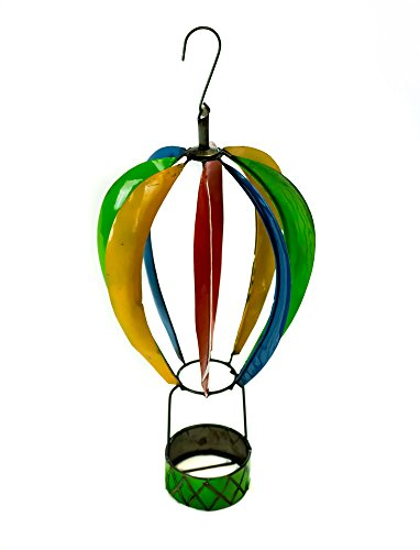 Rustic Arrow Spinning Hot Air Balloon, Multicolor ()
