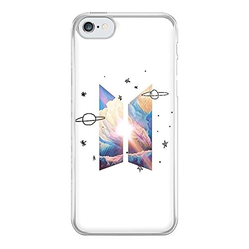 Fun Cases - Space BTS Logo Phone Case - Galaxy S6 Edge Compatible