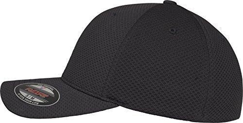 Cap Flexfit FLEYK Hexagon Flexfit 3D negro Kape Jersey 5w4XCqnHC