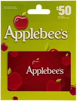 $50 Applebees Gift Card