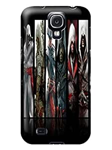Colorful hybrid tpu skin cover case with cartoon for Samsung Galaxy s4 of Assassin's Creed in Fashion E-Mall
