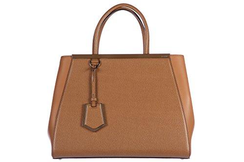 Fendi 2 Jours Hand Bag Yellow