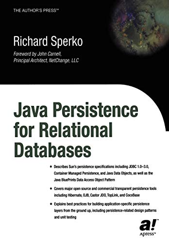 Java Persistence for Relational Databases (Books for Professionals by Professionals)