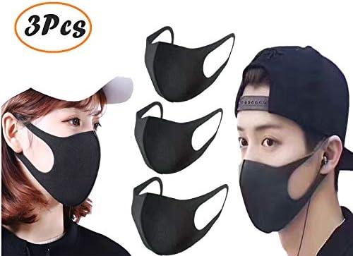 3D mask fashionAnti-Dust Mouth Face Mask Respirator Unisex Mens Womens Cycling