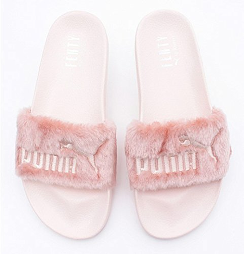 Price comparison product image Women's Rihanna Leadcat Fur Slide Leadcat Fenty Sandals - Pink