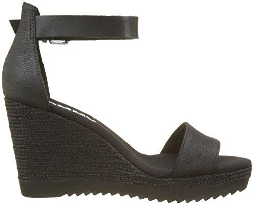 Black Black Wedge Espadrilles 990 Sporty Women's Sandal Tommy Denim Jeans ROvUqxS
