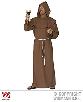 Cardinal Costume Religious Vicar Priest Bishop Adult Mens Fancy Dress Outfit