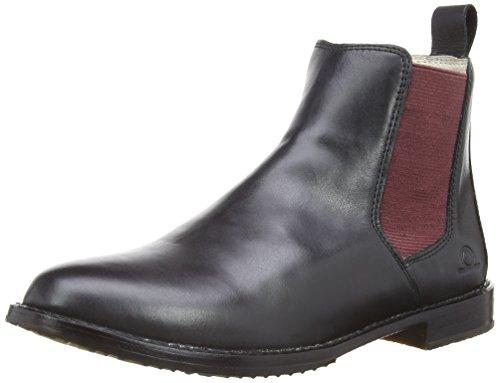 Chatham Chelsea Schwarz Damen Boots Verona 00PZ7x
