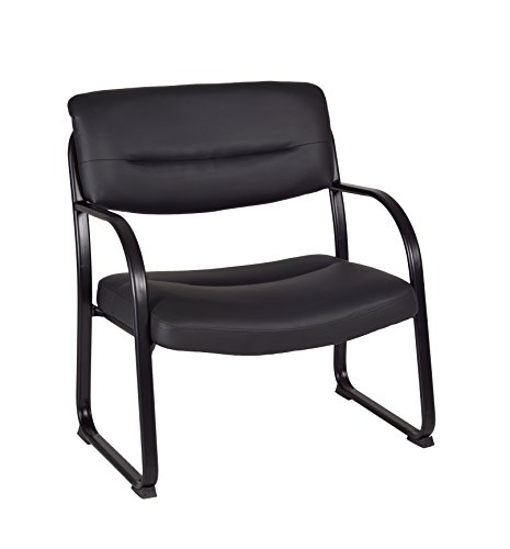 (Regency Crusoe Big & Tall Leather Side Chair)