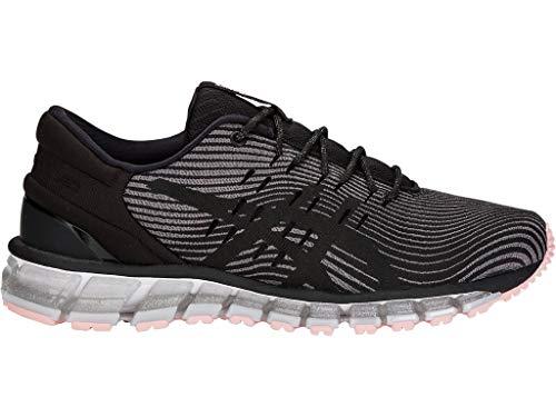 (ASICS Women's Gel-Quantum 360 4 Running Shoes, 7.5M, Carbon/Black)