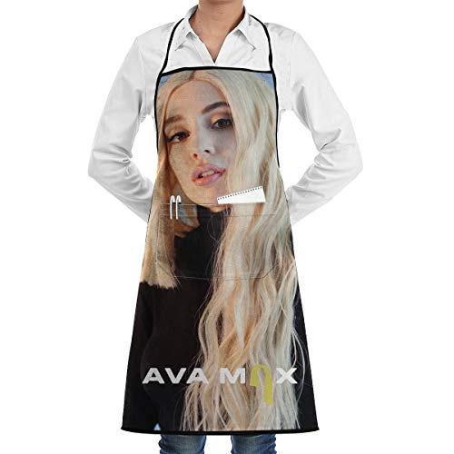 Chef Apron Ava Logo Max Cooking Bib Waitress Pinafore