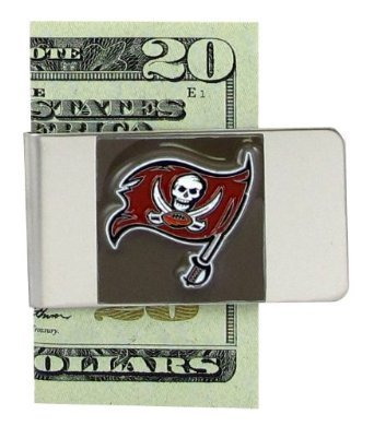 NFL Sculpted & Enameled Pewter Moneyclip - Tampa Bay Buccaneers (Money Clip Tampa Football)