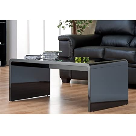 Exceptional Black Toscana Coffee Table TOS01