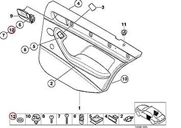 amazon bmw genuine accelerator pedal licence plate support 1986 BMW 325E Sedan bmw genuine accelerator pedal licence plate support adapter washer 5 3 1602 2002 2002tii 528i 530i 320i