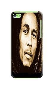 fashionable Cool Bob Marley Elegant TPU phone Case Cover Skin For iphone 5c with cool photo design wangjiang maoyi