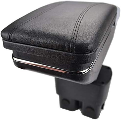Per 2010-2017 N issan NV200 Lusso Auto Bracciolo Accessori LED Incorporato Il corrimano pu/ò essere sollevato Nero