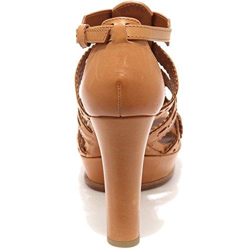 Cuoio 85867 Shoes Sandalo Women Scarpa Cuoio Plat Donna Sand Tod's qa0wdzq