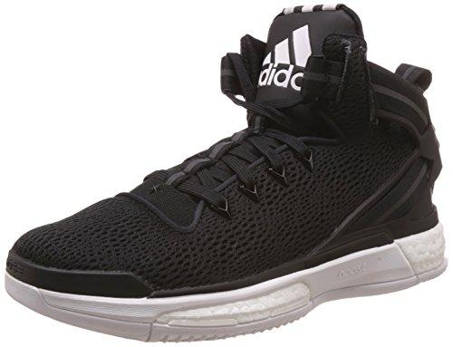 adidas D Rose 6 Boost, Men's Basketball Shoes, Negro / Blanco (Negbas /...