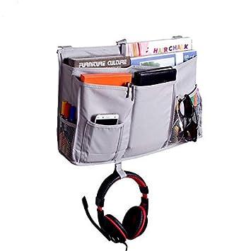 Crib Cot Bed Organizer And Storage Caddy Grey Zig Tree 9 Hanging Pocket Bag Kids