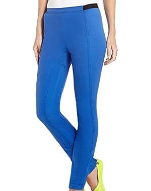 BCBG MaxAzria Women's Skinny Slater Paneled Pants Blue 2XS