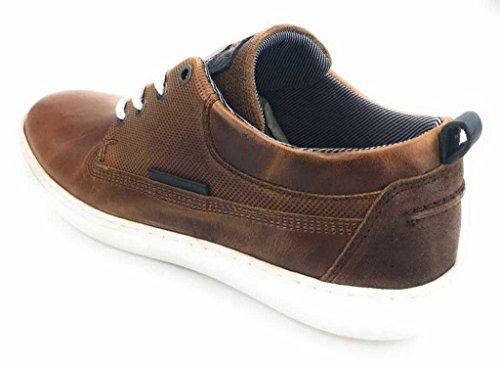 BULLBOXER 779k26023a2499 - Zapatos de cordones para hombre marrón