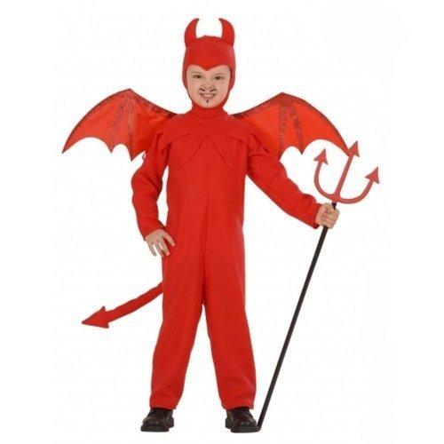 Children's Devil Child Costume For Halloween Lucifer Satan Fancy Dress 110cm