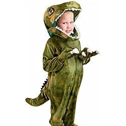 DISFRACES TuDi - Disfraz Halloween Dinosaurio T-Rex Talla 4