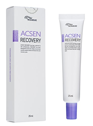 ([TROIAREUKE] ACSEN Recovery Cream 25ml (0.84fl.oz.) - Skin Calming Repairing Moisturizing Soothing for Extra Sensitive Redness and Acne Prone Skin)