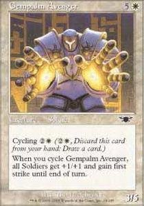 (Magic: the Gathering - Gempalm Avenger - Legions - Foil by Magic: the Gathering)
