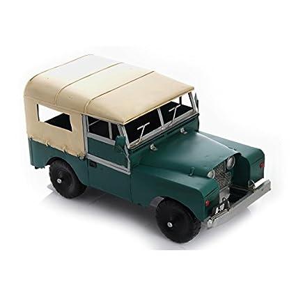 Amazon Com Bsz Metal Car Model Land Rover Safari Jeep Kitchen