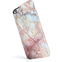 """iPhone 6 6s case marble, Akna® New Glamour Series [All New Design] Flexible Soft TPU cover with Fabulous Glossy Pattern for both iPhone 6 & iPhone 6s(4.7""""iPhone)[Marble Texture #8](22-C.A)"""