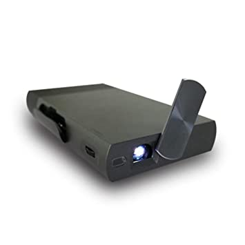 DLP Mini Proyector 1400 lúmenes Proyector 1080P Batería ...