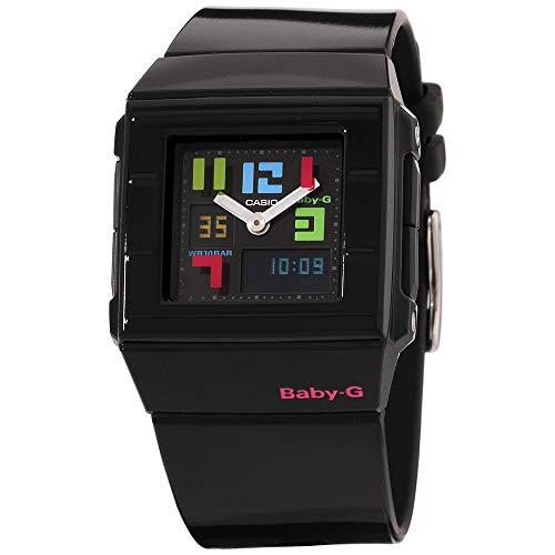 Casio Baby-G Black Dial Plastic Strap Ladies Watch BGA200PD1BDR