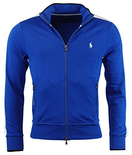 Polo Ralph Lauren Men's Performace Track Jacket, Pacific Royal, L