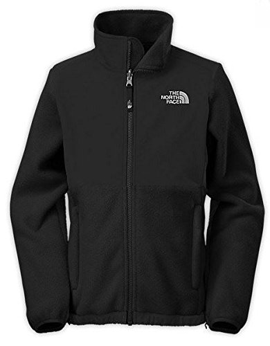 Girl's The North Face Denali Jacket Black Size Small Black Score Full Zip Fleece