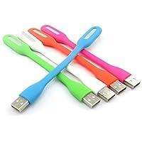 AVMART 5V 1.2W Portable Flexible USB LED Light Lamp (Combo Pack) All Color