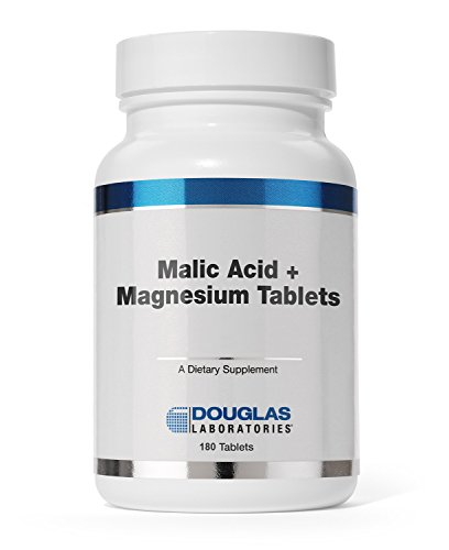 Douglas Laboratories® - Malic Acid + Magnesium - Supports the Healthy Structure and Function of the Immune and Skeletal Systems* - 180 - Vitamins Malic Magnesium Acid