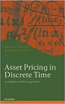Book Asset Pricing in Discrete Time: A Complete Markets Approach (Oxford Finance Series)